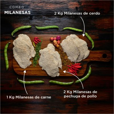 Combo Milanesas