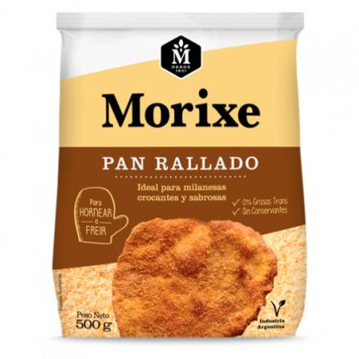 Pan Rallado Morixe x 500 Grs