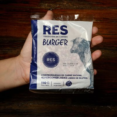 Res Burger - 2 Unidades